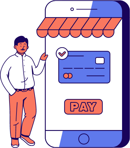 Graphic of E-commerce payments